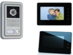 """Цветной видеодомофон Handsfree 7"""" JS-V 712 + вызывная панель"""