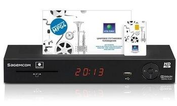 Ресивер Sagemcom DSI74 + абонентский комплект Запад НТВ-Плюс