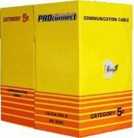 Кабель FTP 4PR 24AWG CAT5E OUTDOOR 305M PROCONNECT