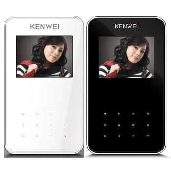 """Монитор видеодомофона KW-E351C, 4"""""""