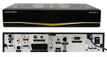 Спутниковый ресивер Golden Media UNI BOX 2