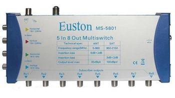 Мультисвич Euston MS-5801 5x8 активный УЦЕНКА