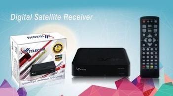 Ресивер цифровой эфирный DVB-T2 T1 HDMI TELECOM TL-55