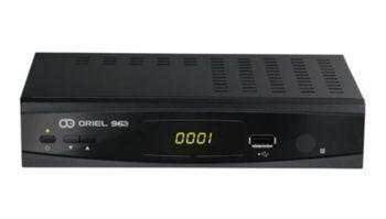 Ресивер цифровой эфирный  DVB-T2 ORIEL 963