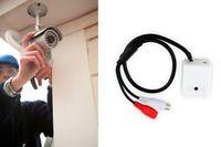 Установка микрофона в системе видеонаблюдения