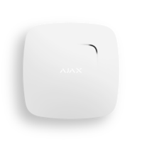 Ajax FireProtect Plus (white) датчик дыма с сенсорами температуры и угарного газа