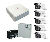 Комплект видеонаблюдения HiWatch DS-H208Q / 5 камер HiWatch DS-T220S