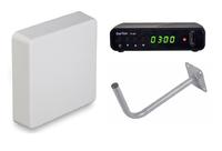 Комплект цифрового телевидения Kroks TV-30 Plus / BarTon TH-562