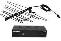 Комплект цифрового телевидения Rusat-12 / Lumax DV-3208HD