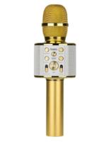 Hoco BK3 беспроводной микрофон для караоке, Золото