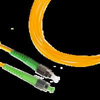 Naimexx Патч-корд волоконно-оптический симплексный 1*9/125(OS2), FC(UPC)-SC(UPC), 1м, LSZH