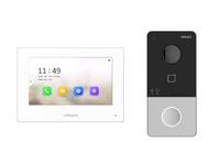 DS-D100IKWF комплект IP видеодомофона (вызывная панель + монитор)