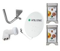 Спутниковое телевидение НТВ+ на 2 телевизора с CAM модулями