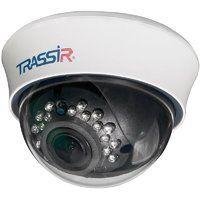TR-D3113IR2. Телекамера IP купольная  1.3 Mп; 1/3'' CMOS, 1280x960- 25к/с; объектив 2.7-13.5мм; чувствительность: 0.003/0 Лк; ик 20м; ПО TRASSIR приобретается отдельно!