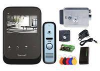 Комплект видеодомофона Tor-Net TR-26 MB / CTV-D1000HD SA / электромеханический замок Atis Lock G