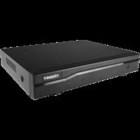 """TRASSIR NVR-1104. Видеорегистратор IP 4 канальный; суммарный поток до 36 Мбит/сек. Разрешение записи до 6 Mp, 1 SATA HDD 3.5"""". 1 х VGA, 1 x HDMI выходы. 2 USB 2.0. 258 x 206 x 45.5 мм"""