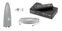 Комплект цифрового ТВ D-Color Funke DSC310 (дальность приема 40 км, не требует настройки)