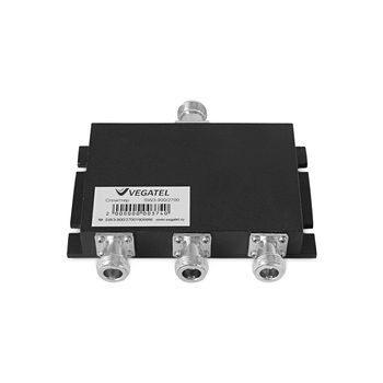 Делитель (сплиттер) Vegatel SW3 на 3 выхода 800~960/1700~2200/2400~2700 МГц