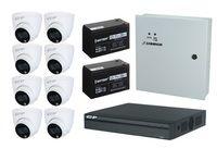 Комплект видеонаблюдения EZ-IP EZ-XVR1B08H / 8 камер EZ-HAC-T6B20P-LED-0280B