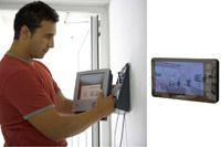 Установка и настройка монитора видеодомофона