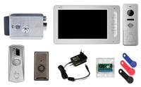 Комплект видеодомофона CTV-M1702 / CTV-D3000 / электромеханический замок Atis lock SSM