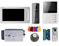Комплект видеодомофона CTV-M1702 / CTV-M1400M / CTV-D3001 / электромеханический замок Atis lock SSM